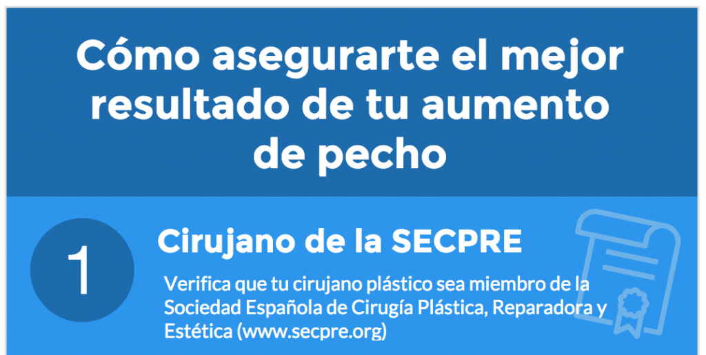 Aumento de pecho: consejos para elegir cirujano plástico