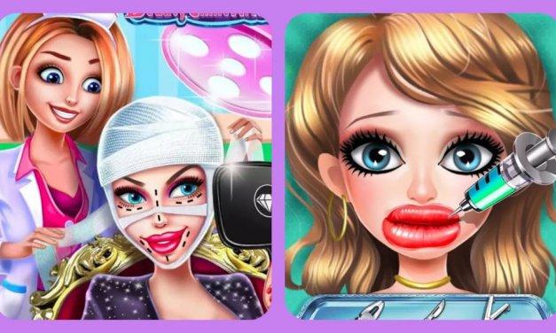 La polémica sobre un juego infantil de cirugía estética