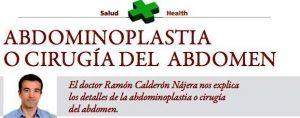 Abdominoplastia y Diplomacia: Entrevista al doctor Ramón Calderón Nájera