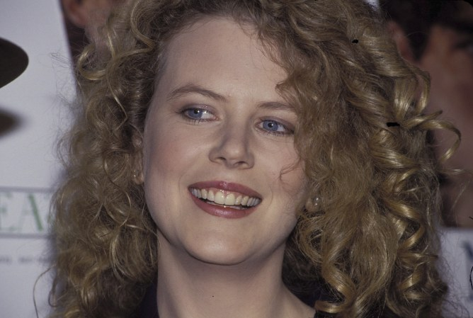Nicole Kidman antes