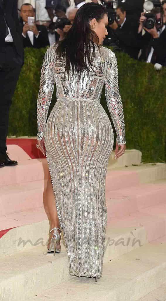 Kim Kardashian trasero