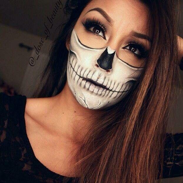 Maquillaje para mujeres de Halloween