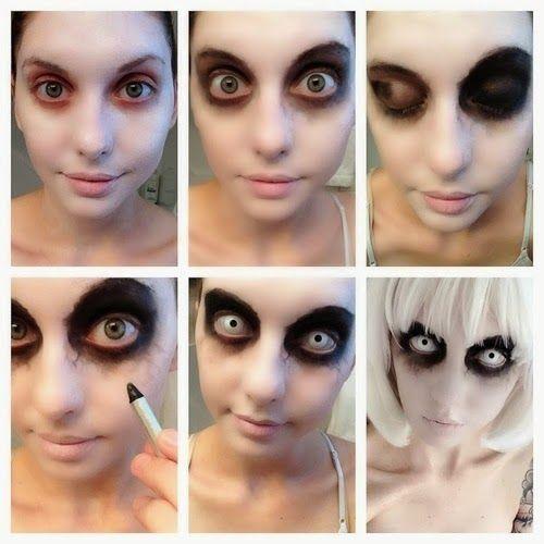Maquillaje de zombie para mujer