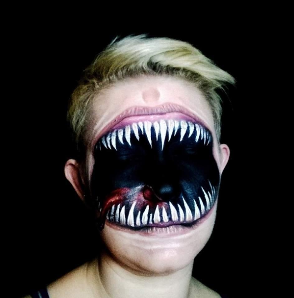 Maquillaje de Halloween para mujeres de miedo