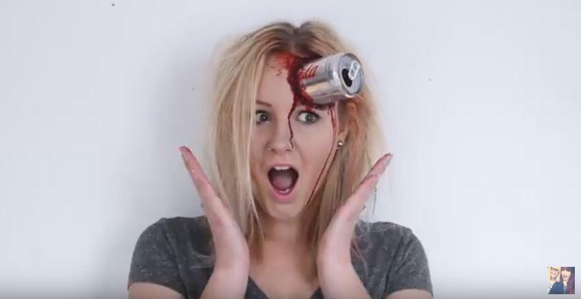 Maquillaje de Halloween terrorífico para mujeres