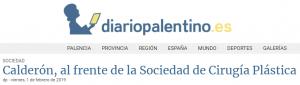 El doctor Ramón Calderón al frente de la Sociedad Española de Cirugía Plástica